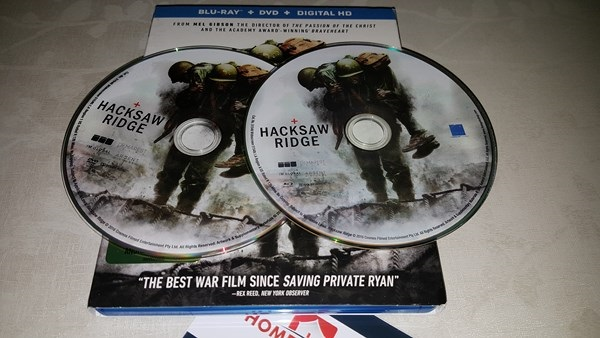 Hacksaw Ridge Blu_ray Review