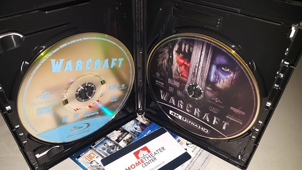 warcraft 4k blu-ray inside