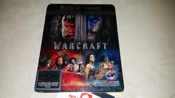 Warcraft 4K Blu-ray